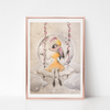 Among the Stars Art Print - ELODIE - Everbloom Kids