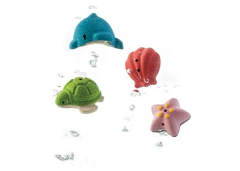 Plan Toys - Sea Life Play Set - Everbloom Kids