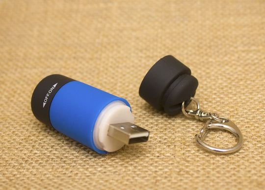 Mini LED Torch - USB Rechargable