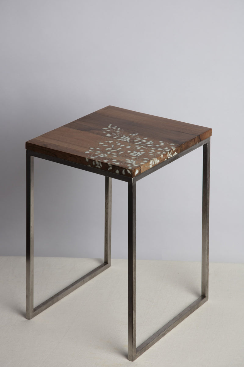 Flower Side Table