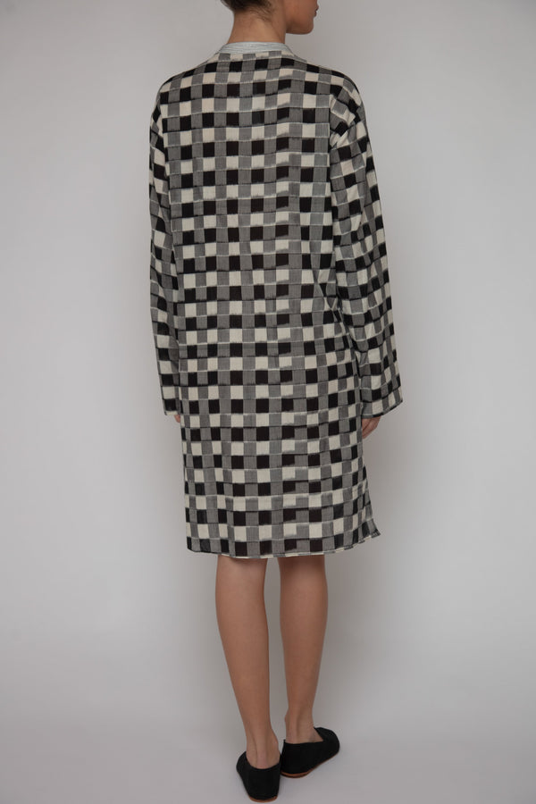 Samira Checked Tunic