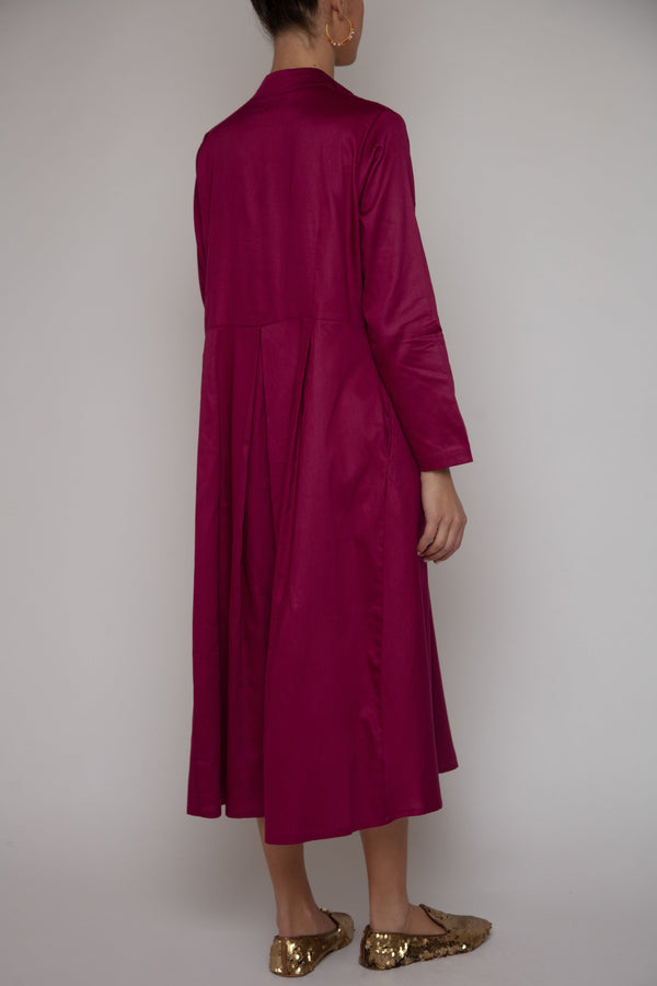 Maryam Cotton Silk Dress