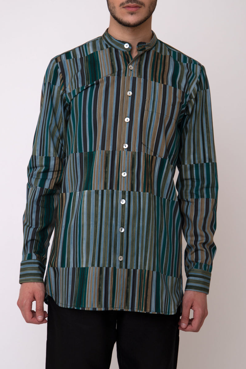 Philippe Green Cotton Shirt