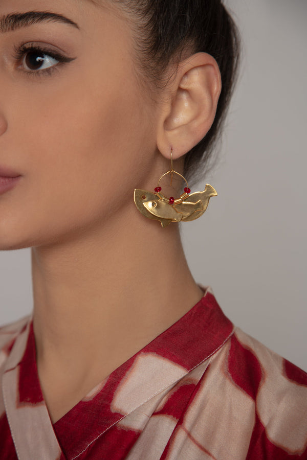 Fish Earrings - Orient 499