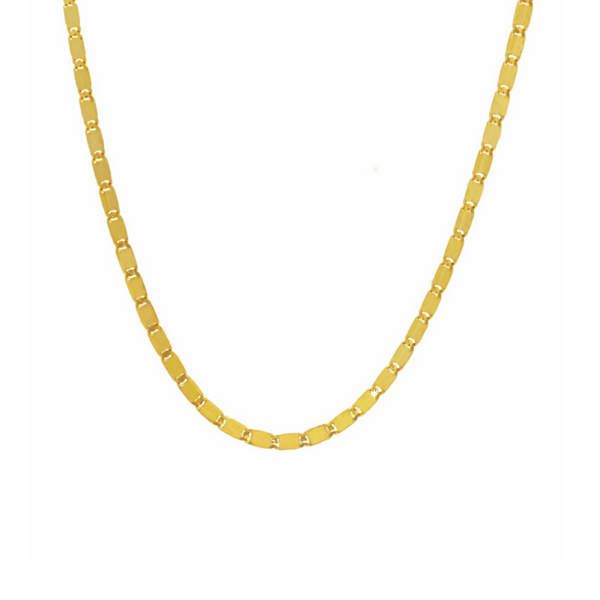 14K Yellow Gold Baht Chain | CH585