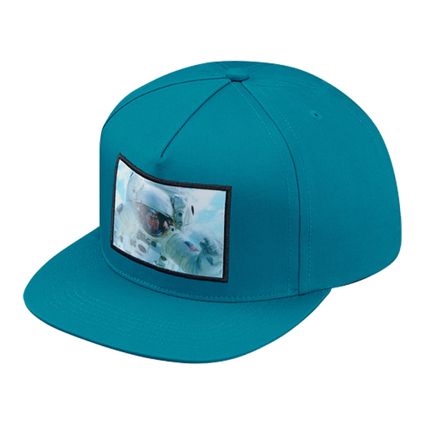 Supreme 5 Panel Cap - Astronaut Hologram
