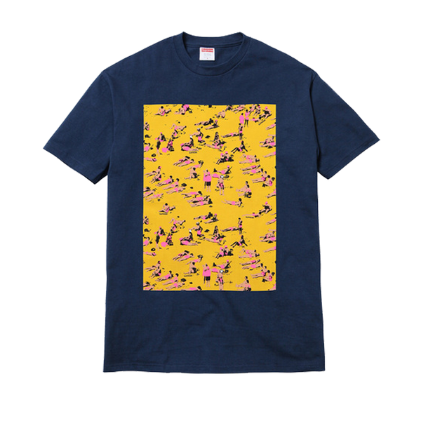 Supreme Beach Tee - Navy