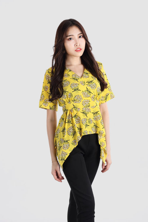 SHERRY FLORAL TOP