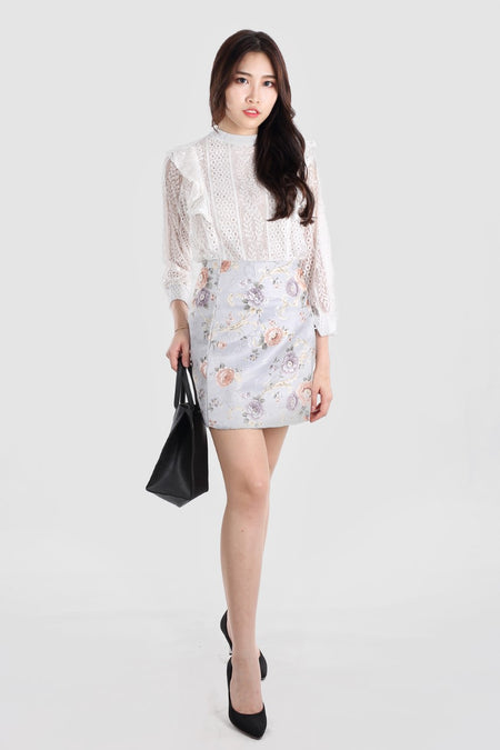 GLADYS PRINTED SHIFT DRESS