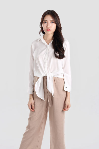 EARTHA RIBBON SHIRT