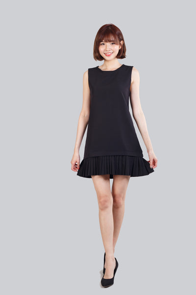 CECILY PLEATED DRESS