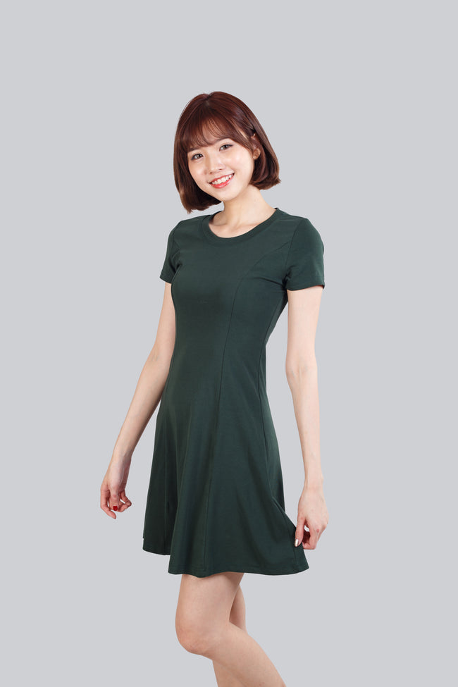 CAMRY BASIC DRESS GREEN