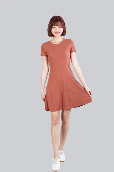 CAMRY BASIC DRESS BROWN