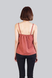 VIV ASYMMETRIC TOP PEACH