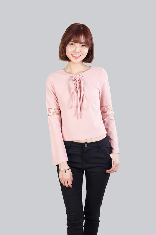 GINNY TOP PINK