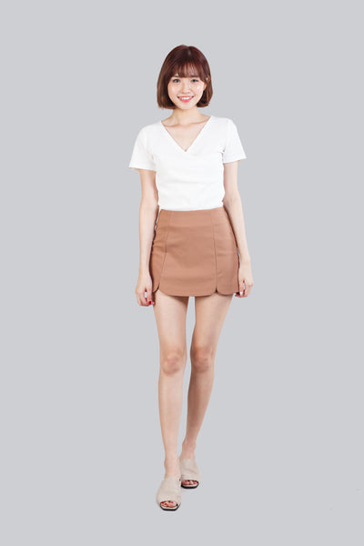 KATE SCALLOP SHORTS