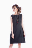 JILL SHIFT DRESS BLACK
