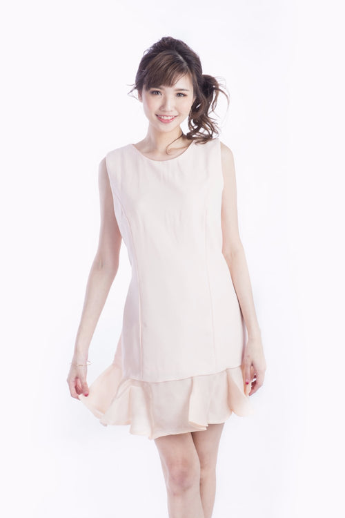 ALANNI DRESS PEACH