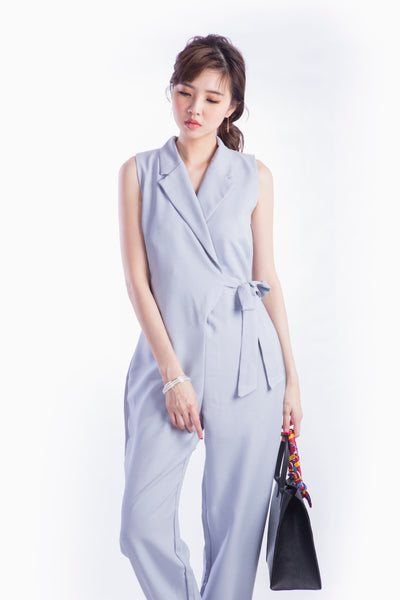 SILVIA JUMPSUIT GREY