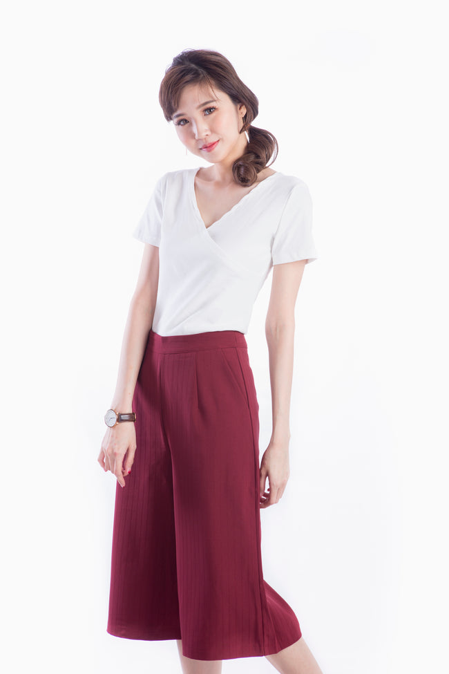 VELORA PANTS WINE