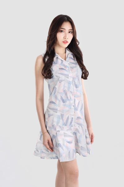 GRACE PRINTED DRESS