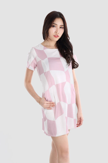 CICI STRIPED DRESS