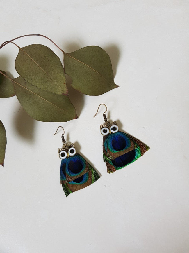 BOHEMIA OWL EARRINGS