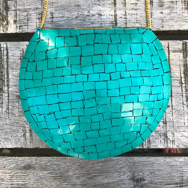 Mozaic bag green