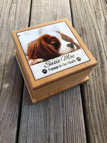 Custom Pet Urn, Pet Loss Gift