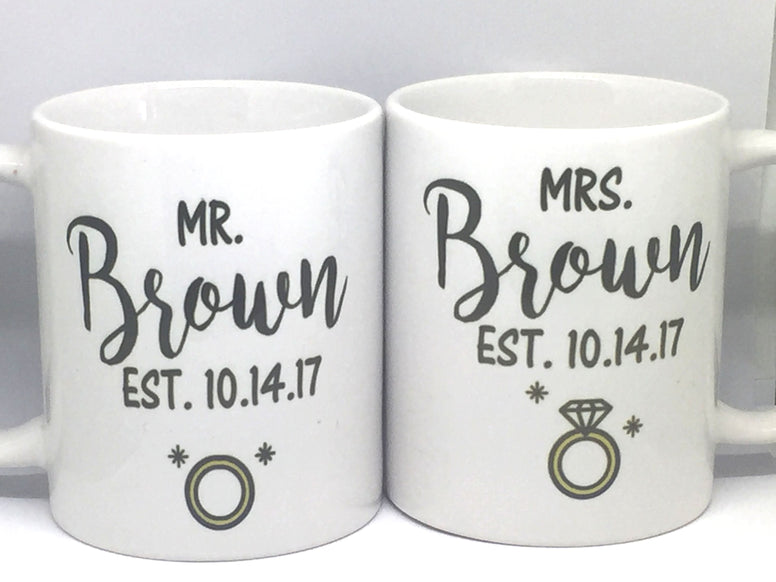 Couple Mugs - Favor Universe