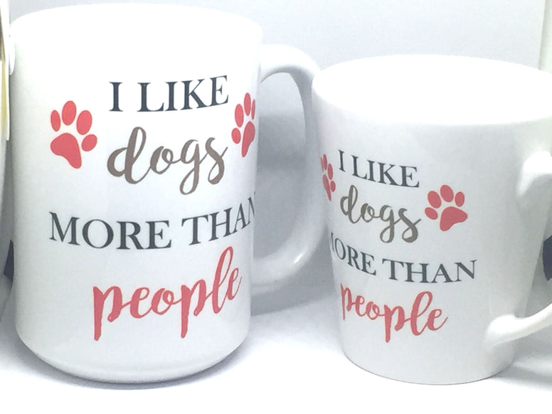 Dogs over people mug - Favor Universe