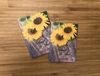 Rustic Sunflower Seed Packets