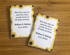 Sunflower Border Seed Packets