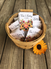 Sunflower and pumpkin fall Seed Packets