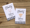 Custom Woodland creatures Baby Shower Seed Packets : Fox Bear Bunny Owl Hedgehog and Racoon  Mix
