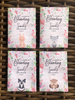 Custom Woodland creatures Baby Shower Seed Packets : Fox Bunny Owl and skunk  Mix