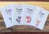 Woodland creatures Baby Shower Seed Packets : Fox , Deer, Racoon and Skunk Mix
