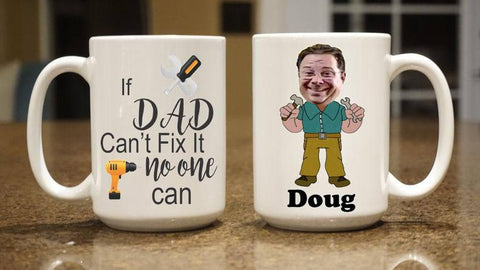 Mr Fix It Mug, Dad Mug, Father's Day Gift