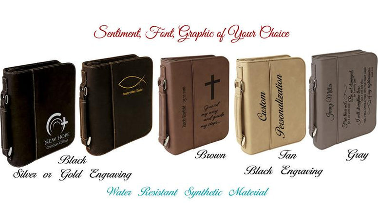 Custom Bible Covers - Personalized Book Covers