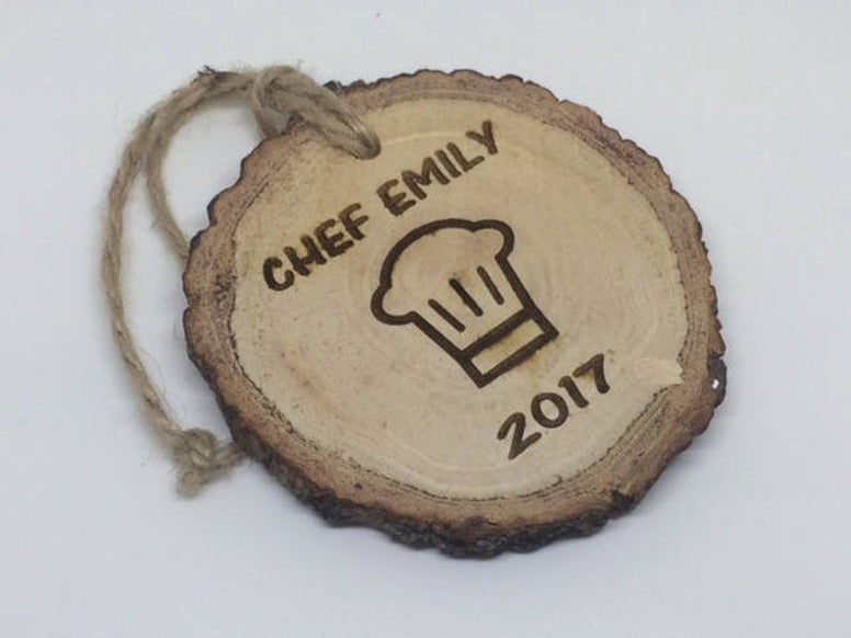 chef hat ornament
