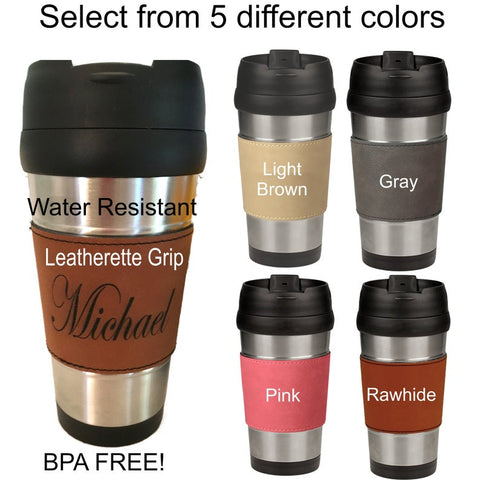 Groomsmen and Bridesmaid travel mug