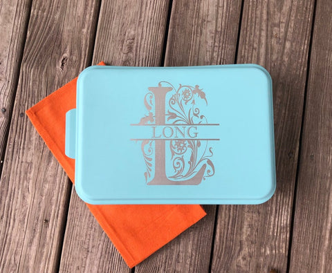 Personalized Cake Pan (Teal), baking gifts, gift for mom