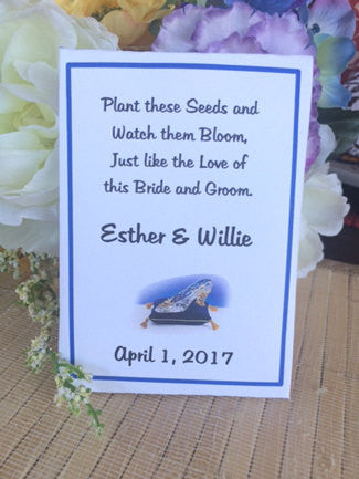 Fairytale Wedding Seed Packets - Favor Universe