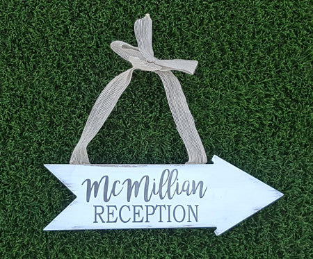 Personalized wedding sign - Favor Universe