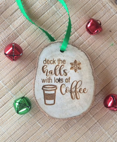 Coffee Christmas Ornament - Favor Universe