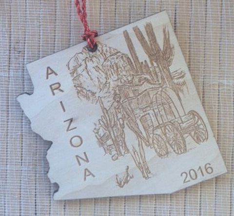 Arizona State Ornament - Favor Universe