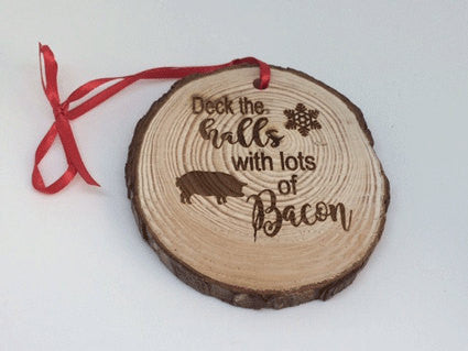 Bacon theme Christmas ornament - Favor Universe