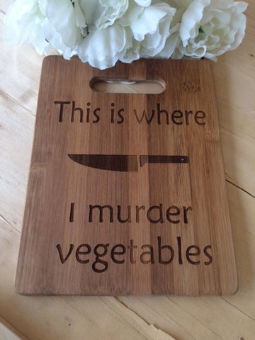 vegetable Bamboo cutting board