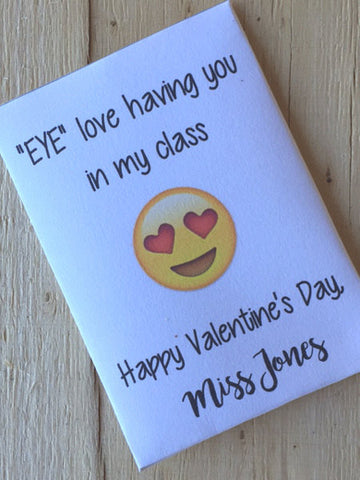 Valentine Seed packets for Teachers