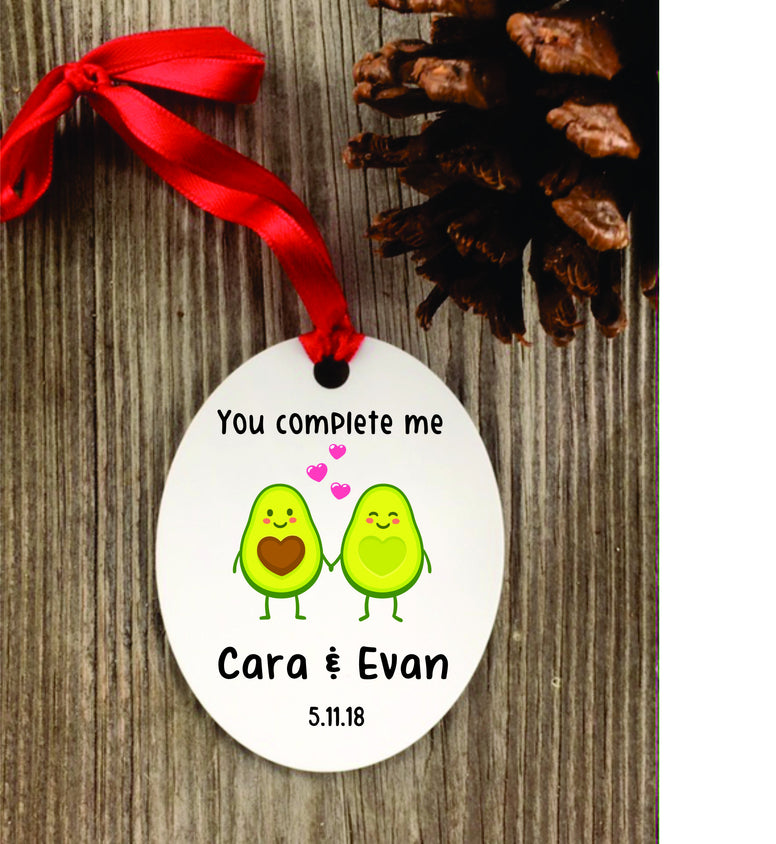 Avocado Ornament - Christmas Ornaments - Favor Universe